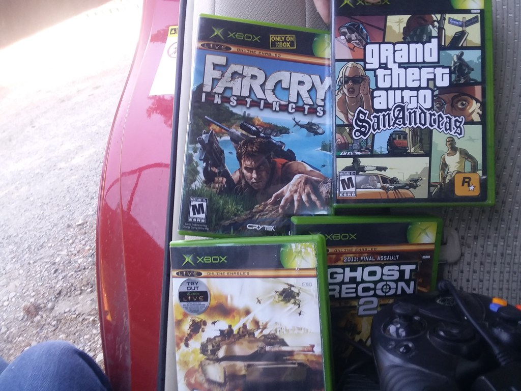 Xbox movie kit