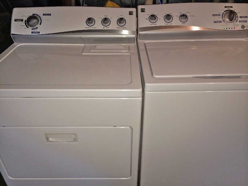 kenmore washer and dryer for sale. Black Bedroom Furniture Sets. Home Design Ideas