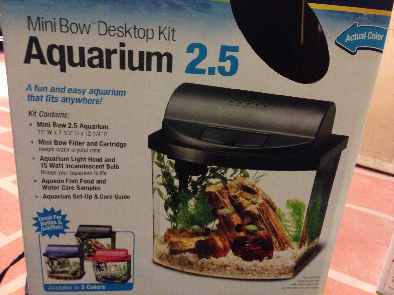 2 5 Gallon Fish Aquarium And Heater 30 West Grove Pa