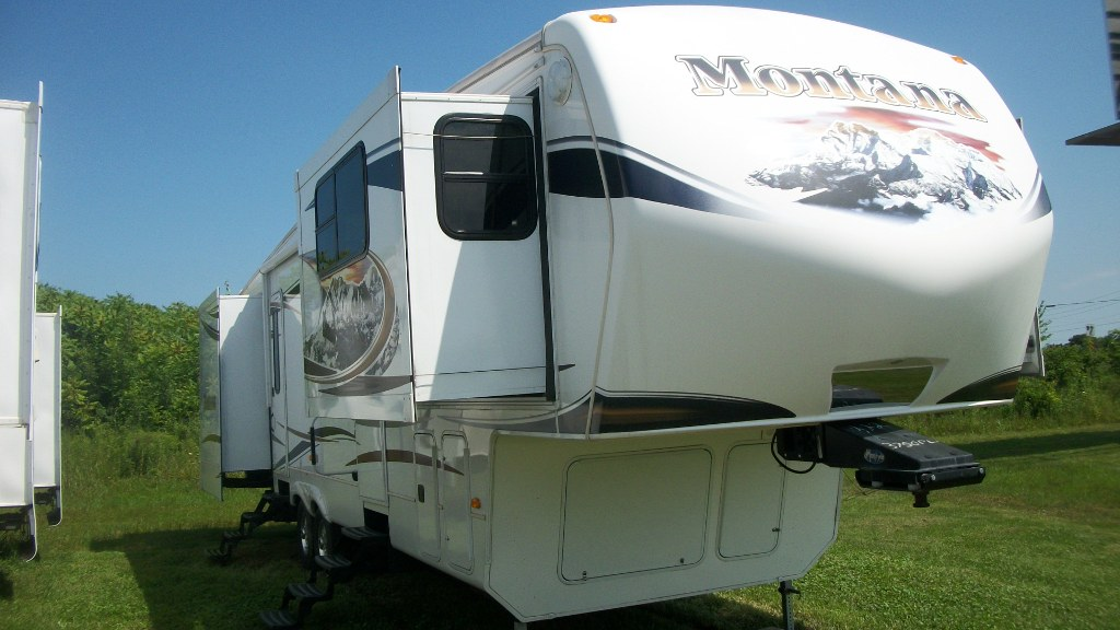2012 Keystone Montana 3750fl Front Living Room Fifth Wheel Camper 2012 Keystone Montana Camper
