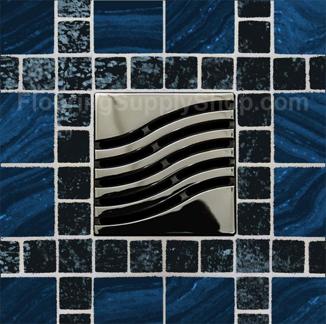 Ebbe Square Shower Drain Unique Series
