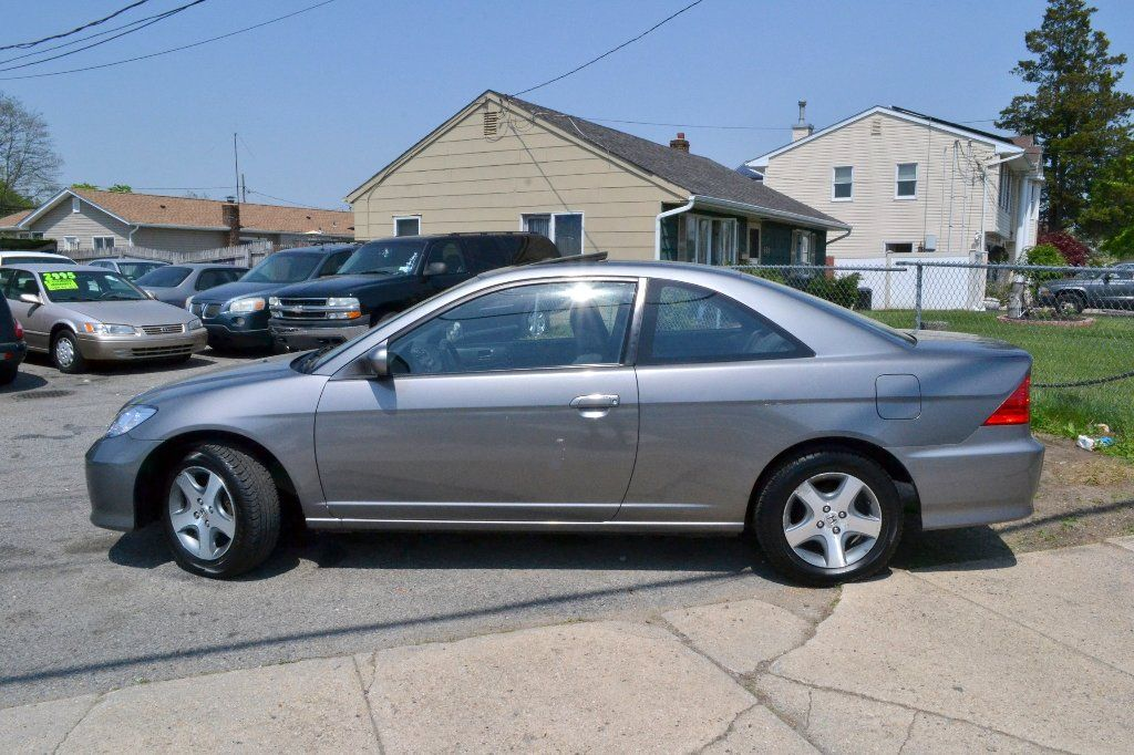 2004 Honda Civic Ex Coupe At Clean Carfax Sunroof Claz Org