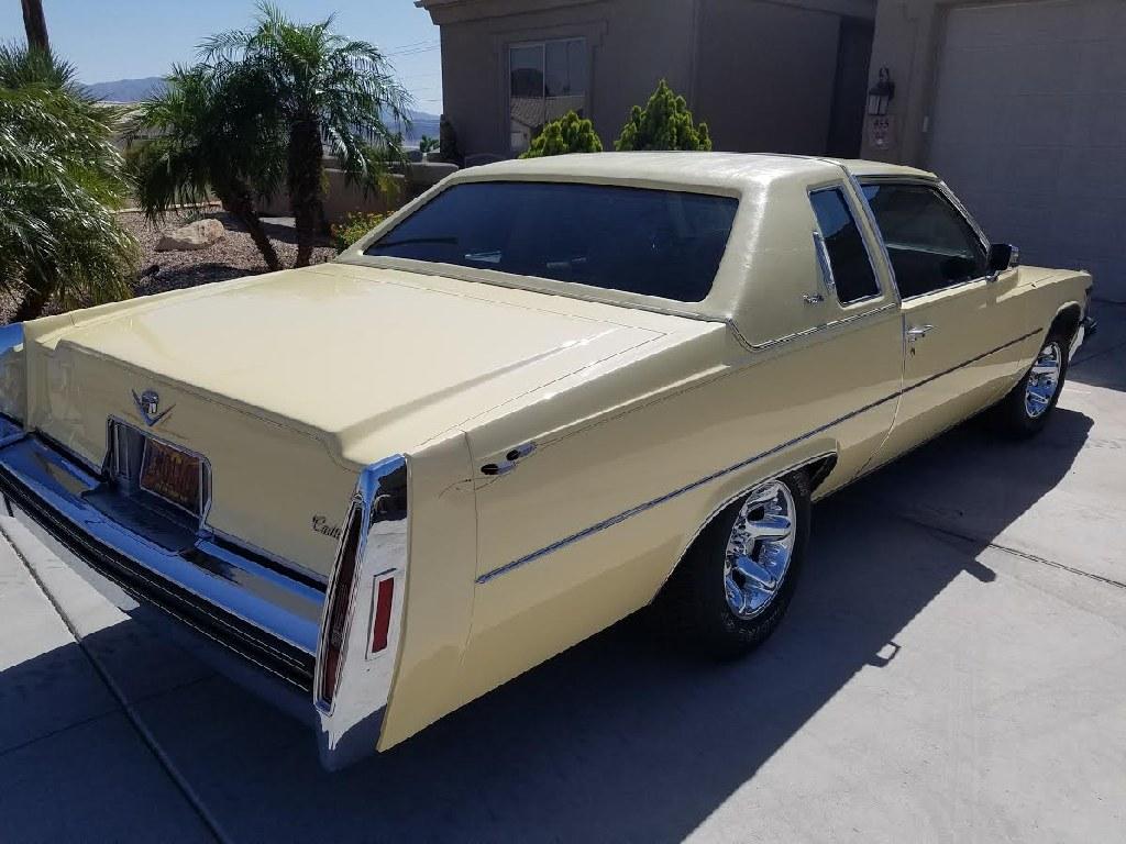 1978 Cadillac Coupe Deville Interior 12995