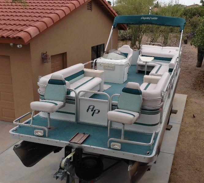 24 Ft Godfrey Aqua Patio Pontoon Boat Claz Org