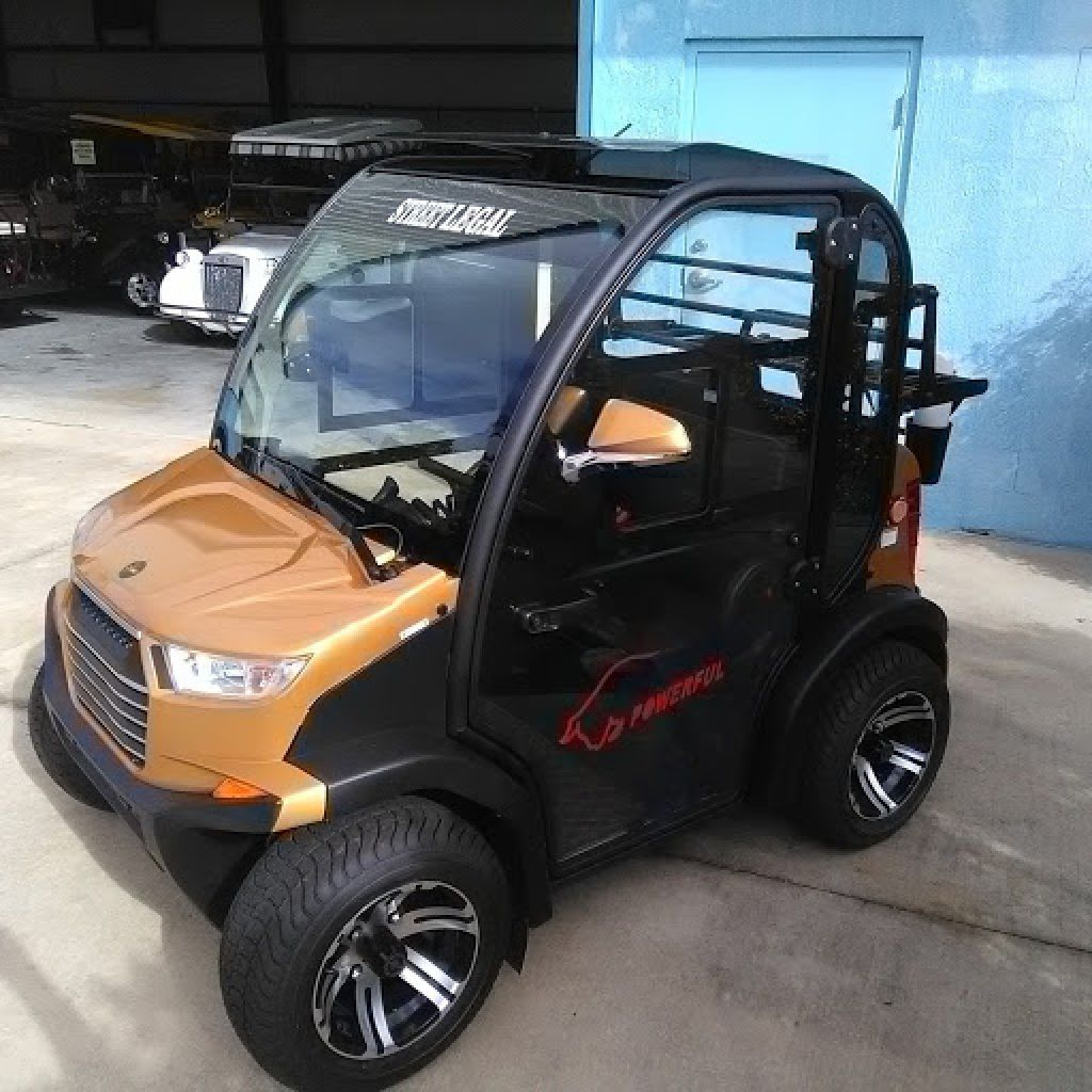 Golf Carts With Air Conditioning Heat Radio Call Crown