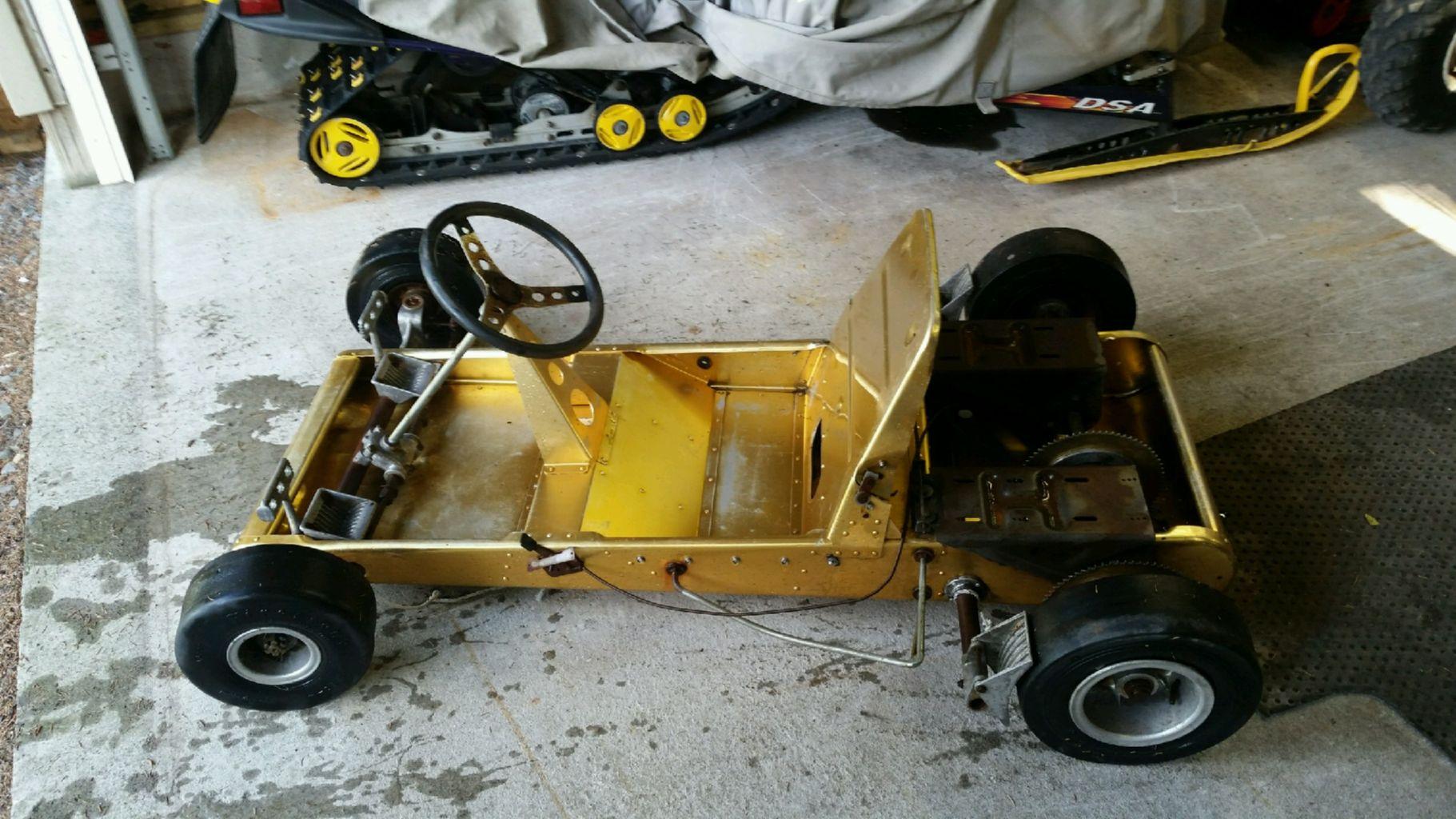 Vintage Rathman Exterminator Go Kart Claz Org