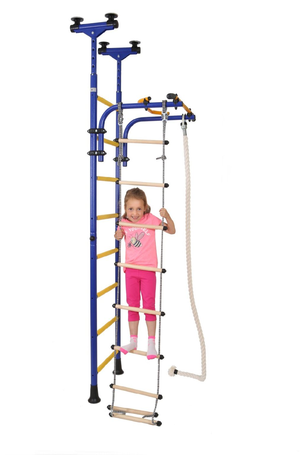 Limikids indoor home gym for kids model olympian claz