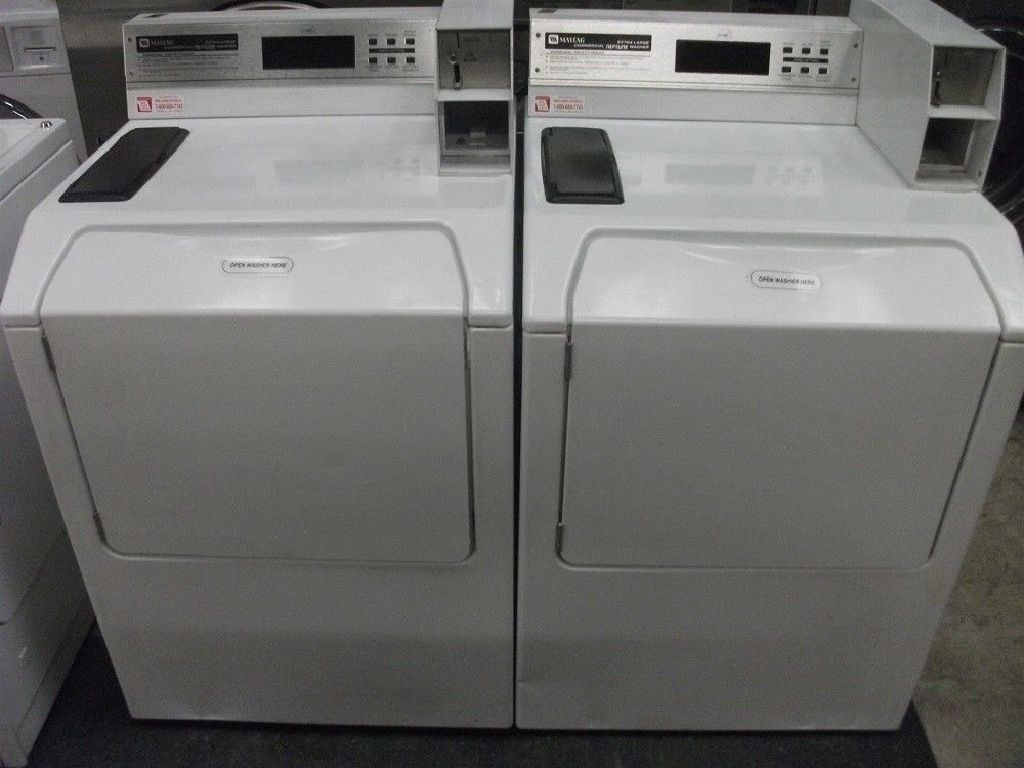 Coin Operated Maytag Neptune Commercial Washing Machine