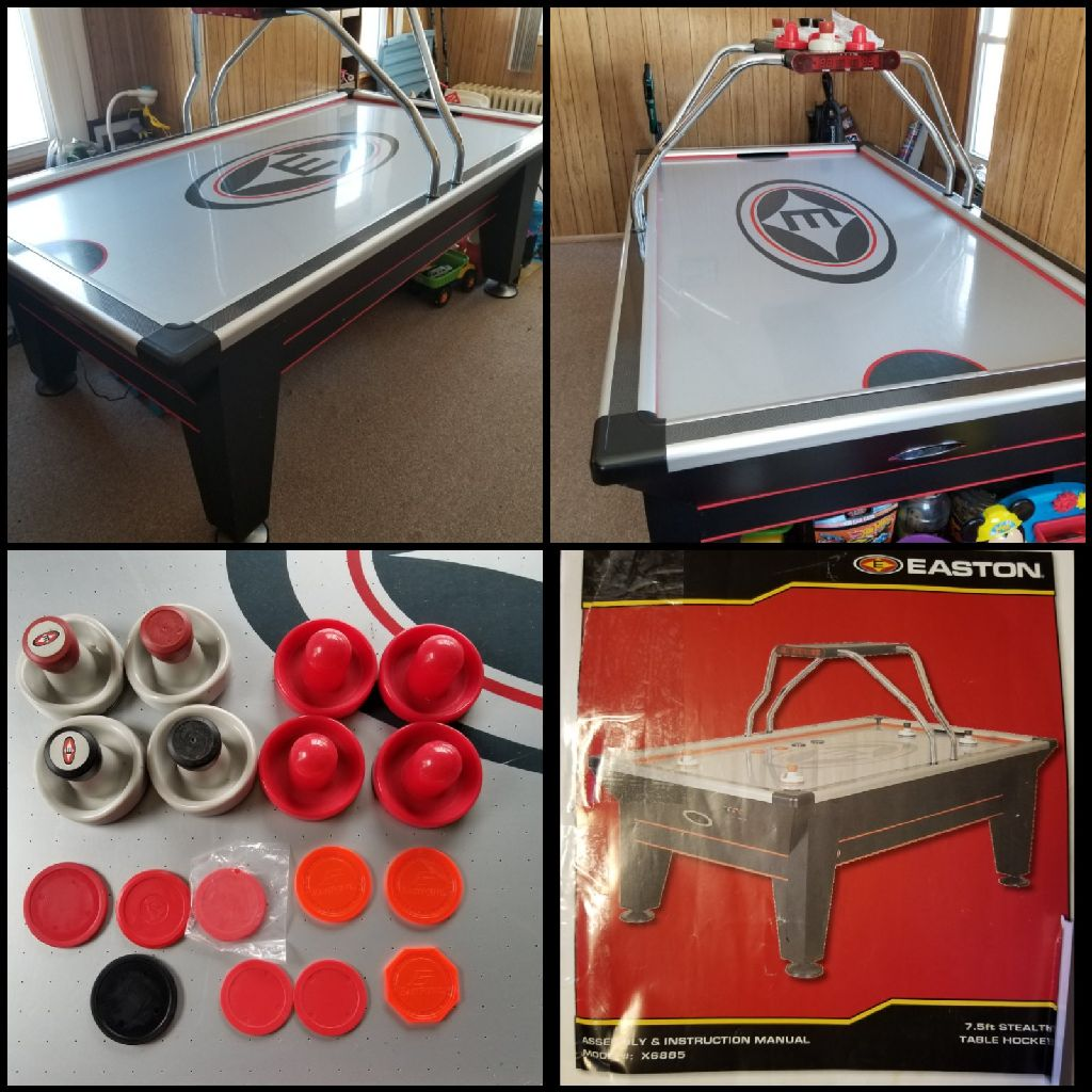 7ft Easton Air Hockey Table Penfield Electronics For Sale Offered Claz Org