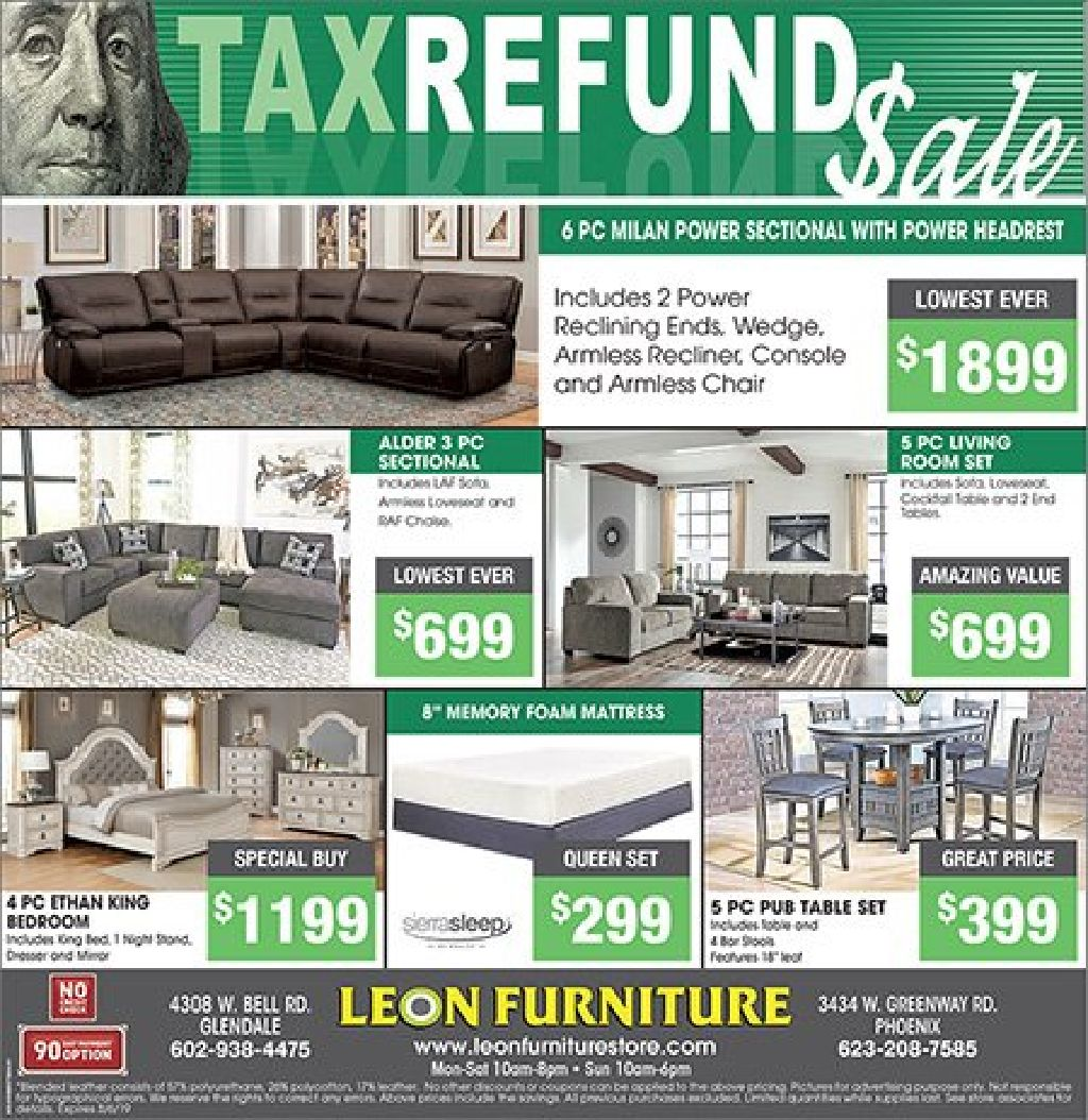 Sale Tax Refund Weekly Offers And Advertisements