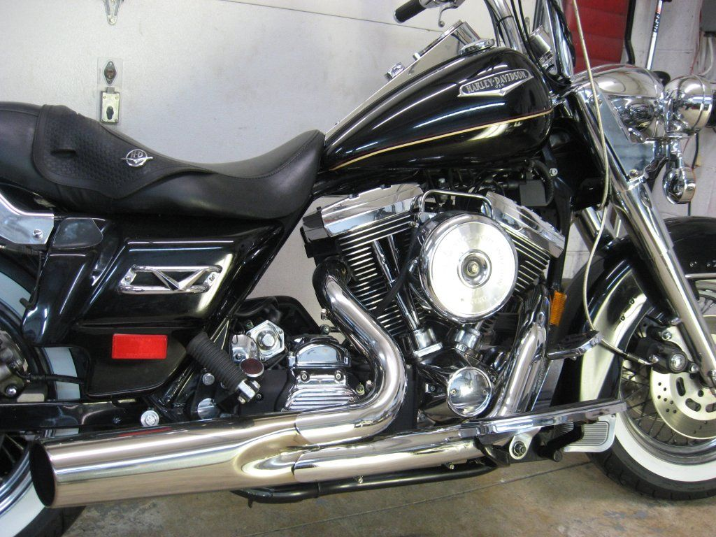 1998 harley road king fuel injected - $5200 (bear BEST OFFER