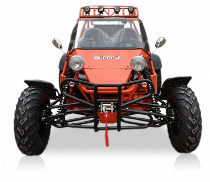 Orange 2 Seater Street Legal Dune Buggy Lowcountry