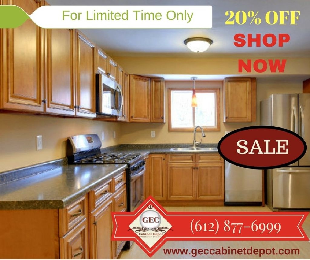 Purchase Exquisite Toffee Kitchen Cabinets From Gec In Minnesota