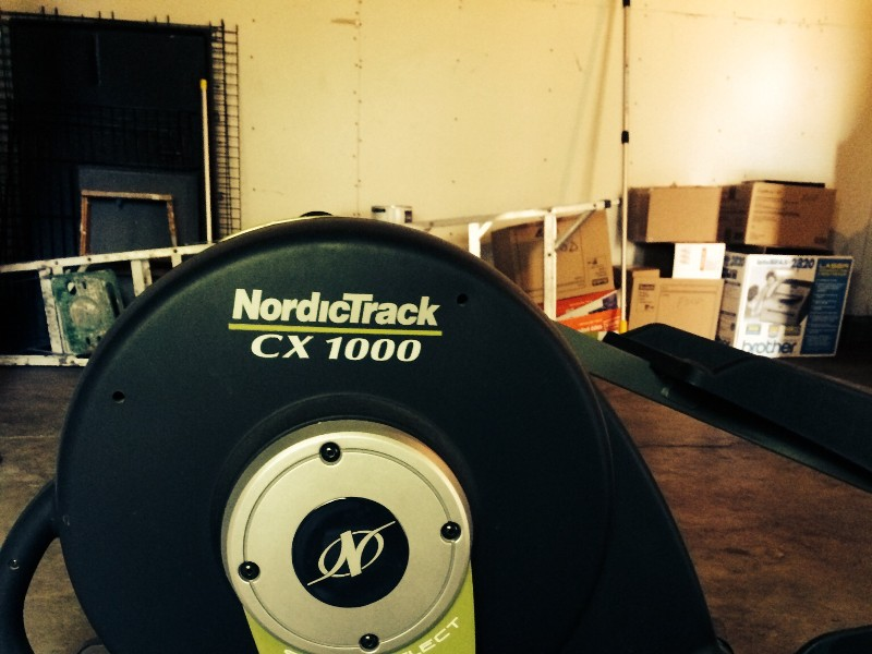 Dealing With Good News >> Nordic Track Elliptical CX100 space saver - Claz.org
