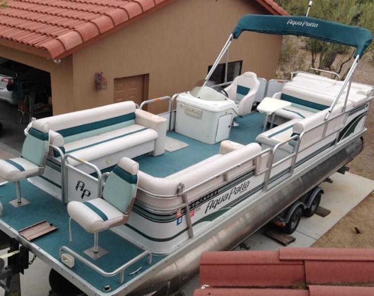 Phoenix Boats For Sale >> 24 FT Godfrey Aqua Patio Pontoon Boat - Claz.org