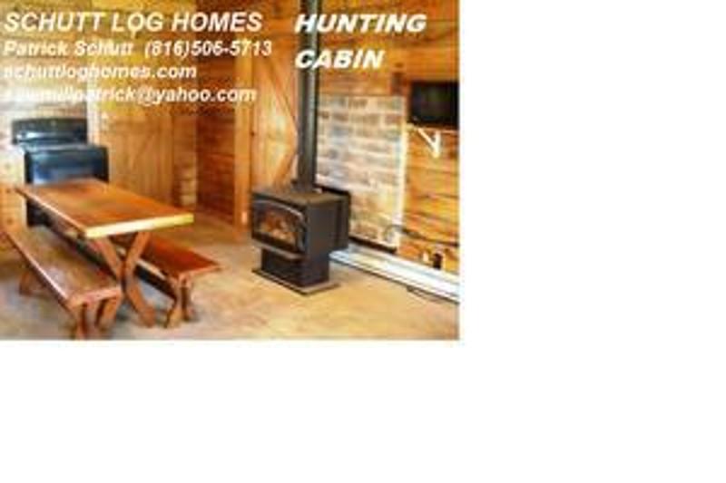 1 Bedroom Hunting Cabin Kit