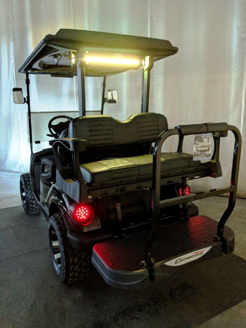 2014 Yamaha Gas Efi Golf Cart Bazooka Sound Bar  Deluxe