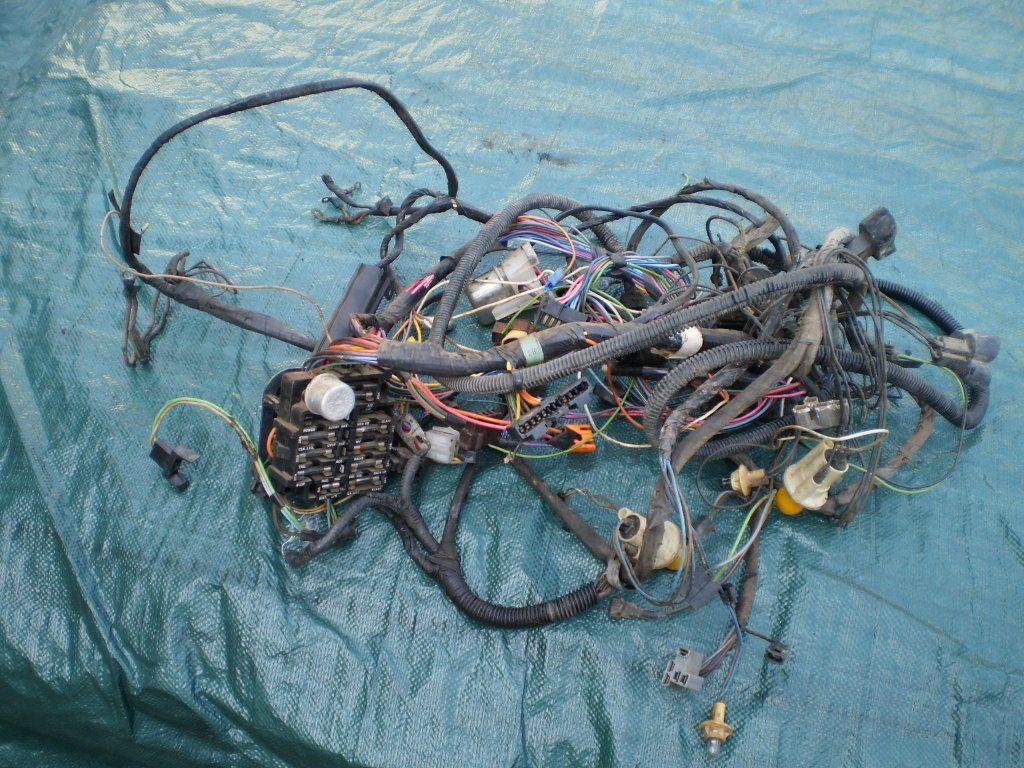 1972 72 PONTIAC GTO LEMANS DASH ENGINE WIRING HARNESS FUSE BOX 72 AC OEM  FACTORY - Claz.orgClaz.org