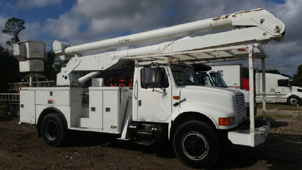 International 4700 55ft Altec Bucket Truck For Sale - Claz org