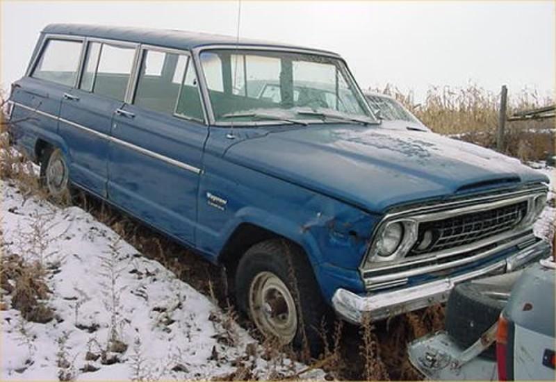 Wagon 1977 1977 Jeep Wagoneer 360 Motor