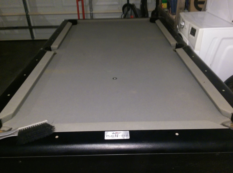 AMF Play Master Pool Table Like New Clazorg Jonesboro - Amf playmaster pool table