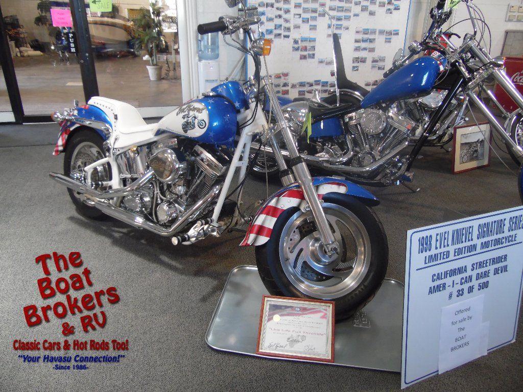 1998 CMC Street rider Y5369 Custom built Evil Kenevil signature