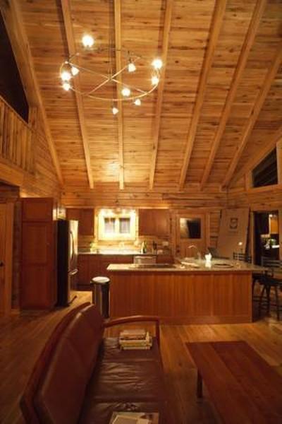 1280 sq ft Oak Log Home Kit