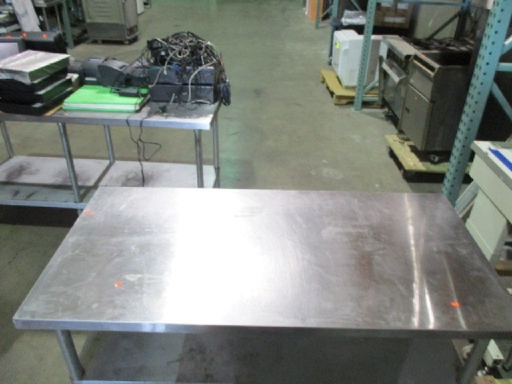 """Stainless Steel 45""""x30"""" Work Table RTR#6122275-11"""