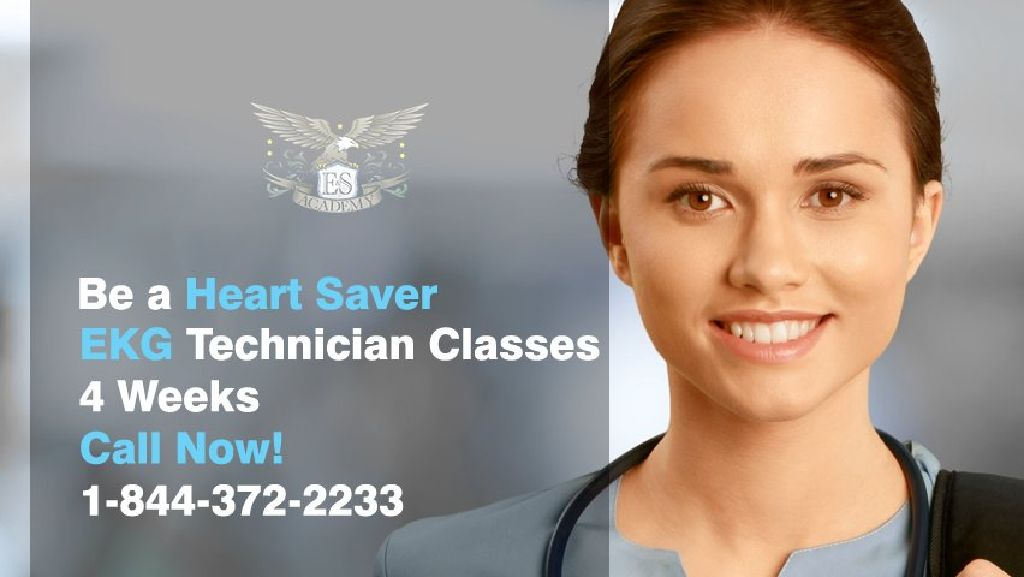 Have A Heart In Healthcare Sign Up For 4 Week EKG ECG Classes And
