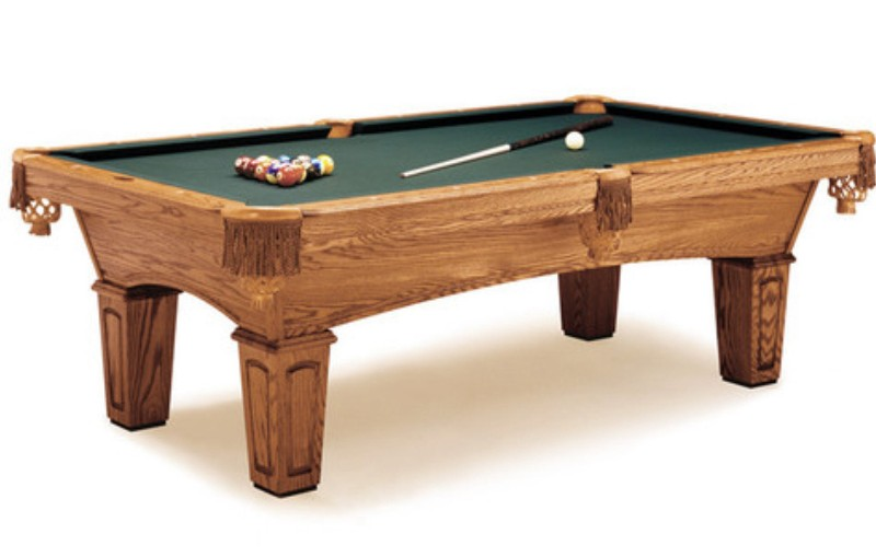 Olhausen 7 foot slate one piece pool table st louis mo for 1 piece slate pool table