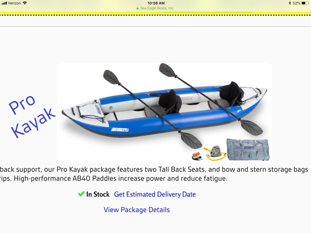 Sea Eagle 380X Pro Inflatable Kayak - Claz org