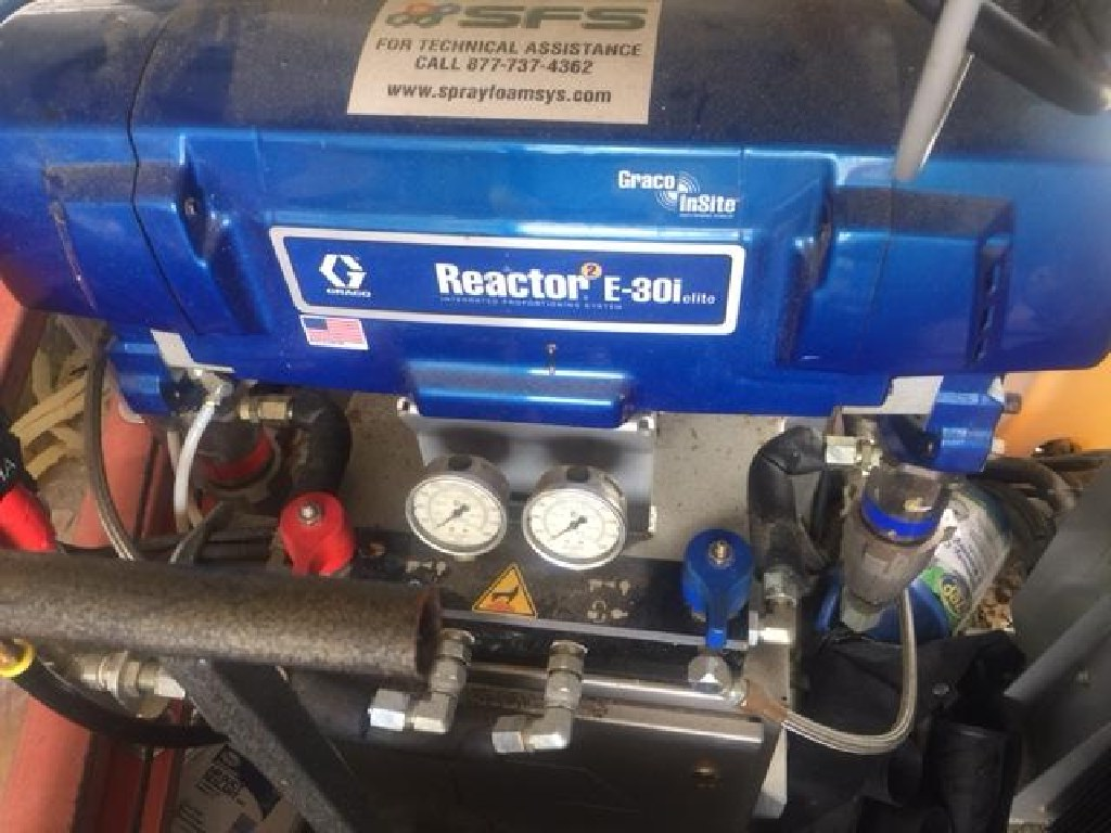GMC Savana Van W/ Graco Reactor2 Elite E-30i, Foam Spray System RTR# 6123206-01,02