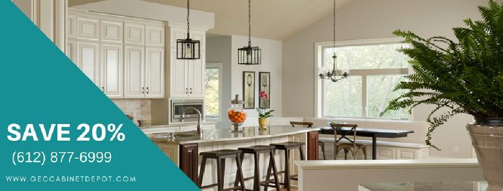 Spruce Up Your Kitchen With Vintage White Kitchen Cabinets From GEC Custom Spruce Up Kitchen Cabinets
