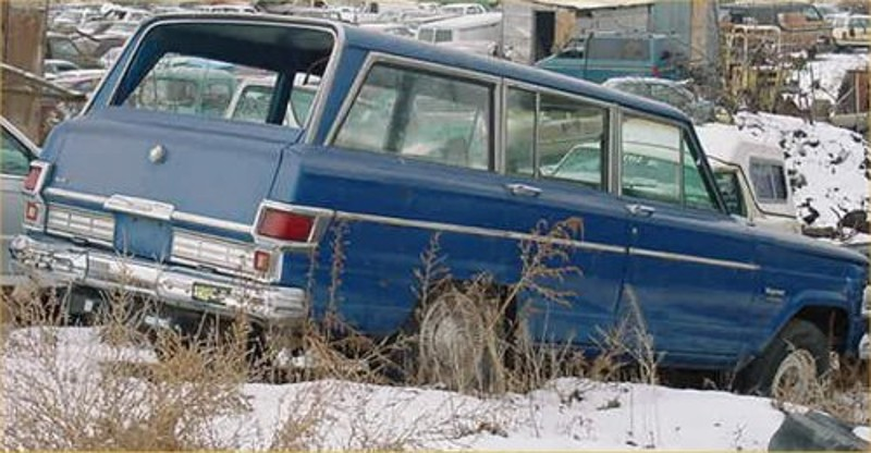 Wagon 1977 1977 Jeep Wagoneer Parts Twin