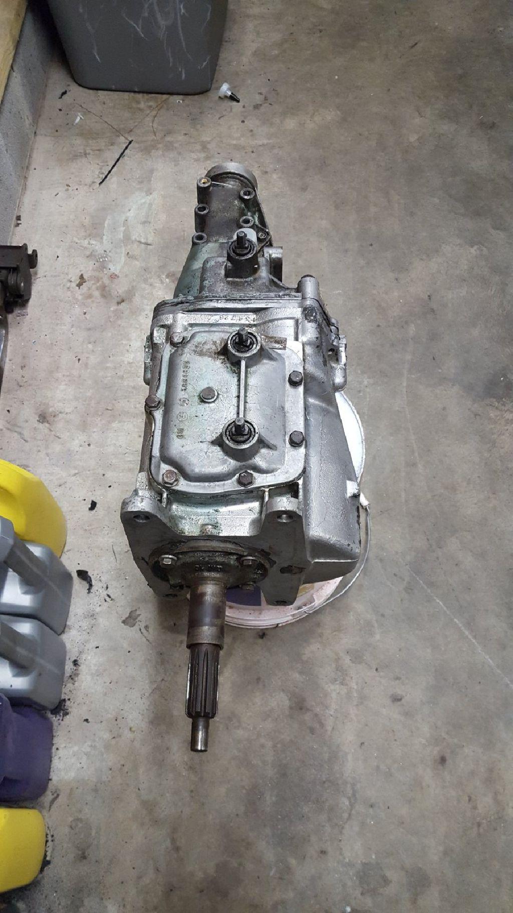 4 Speed Muncie Transmission