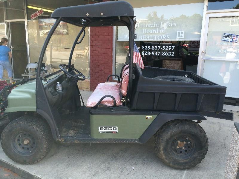 Honda Recon For Sale >> EZGO st 4x4, side by side utv, Honda motor, - Claz.org
