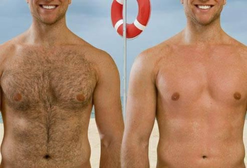 Brazilian wax for men