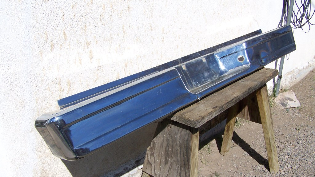 Used 1995 Ford F-150 Rear Chrome Bumper and Dual Exhaust