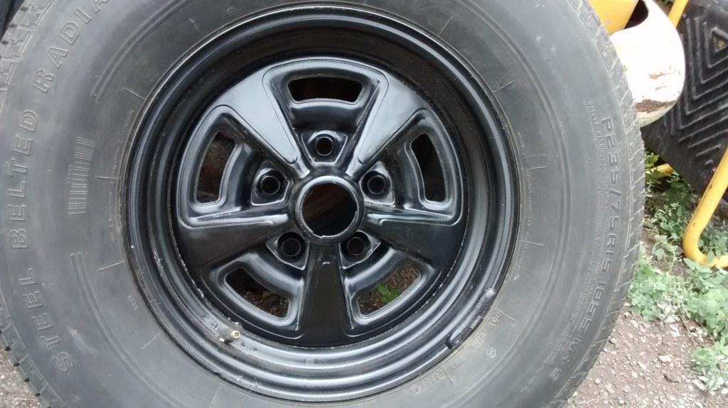 "OEM Pontiac Rally II Wheels With  Rings and Caps 15"" x 7"""