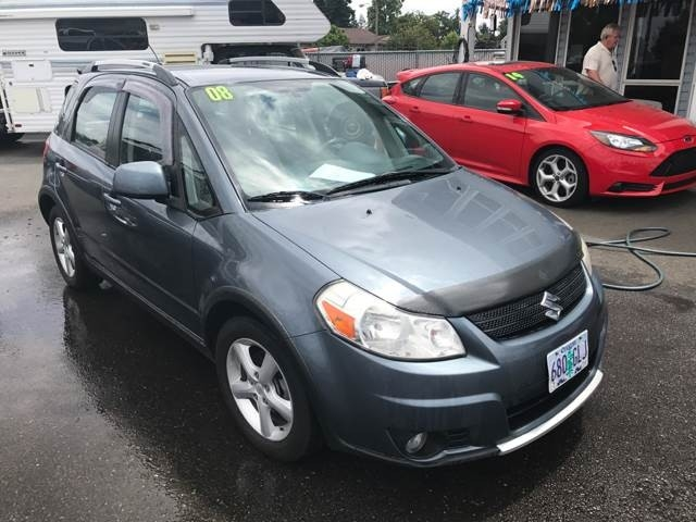 2008 Suzuki SX4 Crossover Base AWD 4dr Crossover w/Touring Package 5M