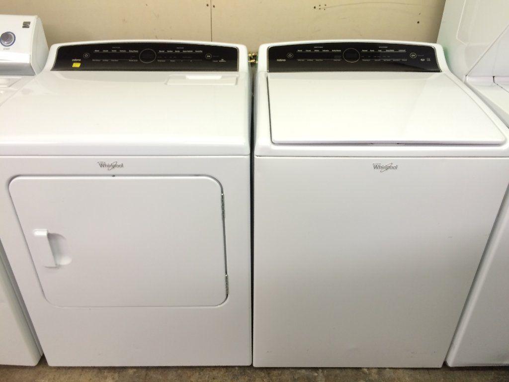 Whirlpool Cabrio HE Washer & Dryer Set