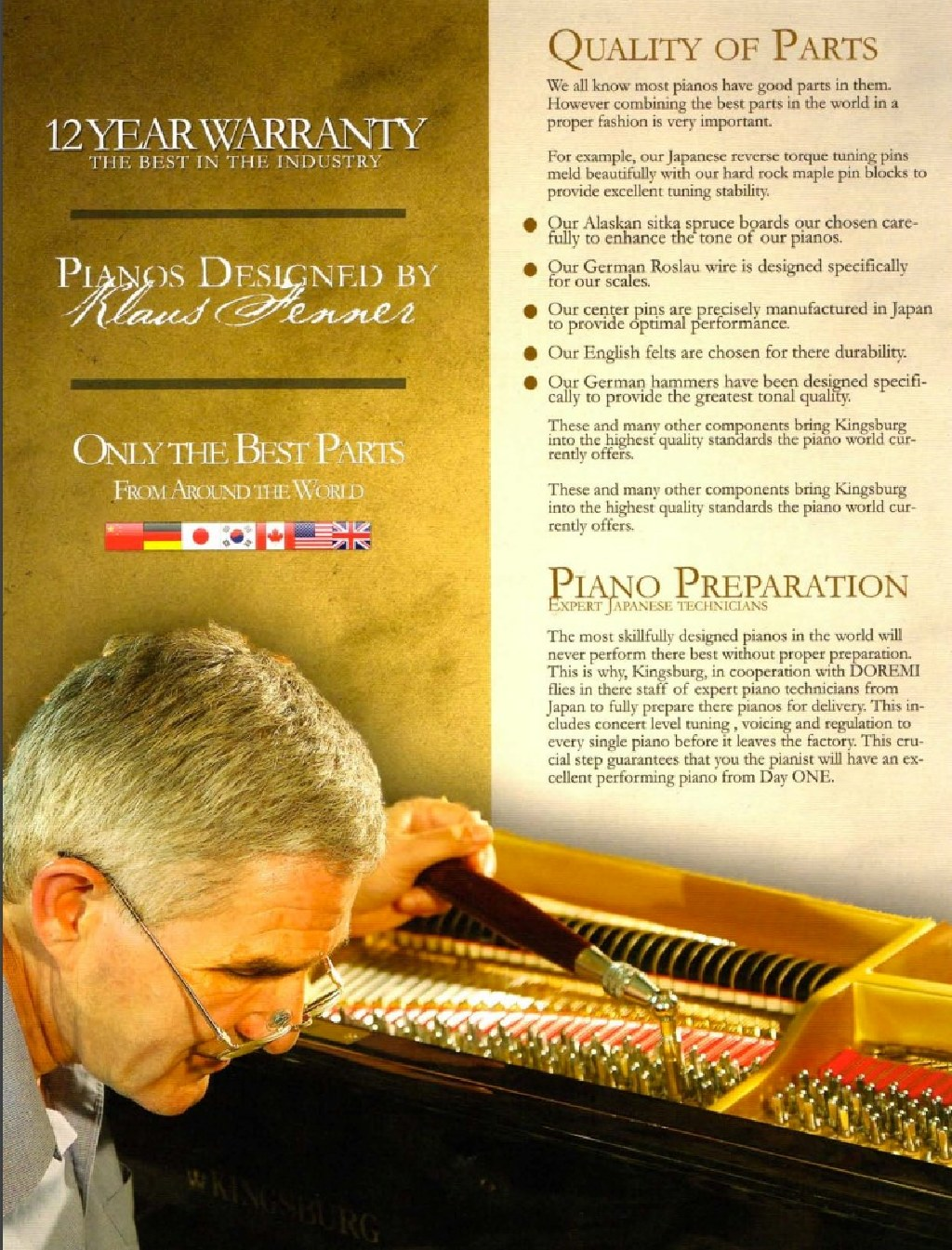 Keyarts Houston - 979-292-8268 Kingsburg Piano