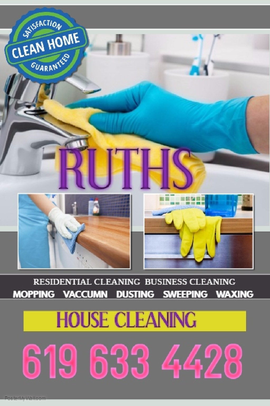 RUTHS HOUSE CLEANING