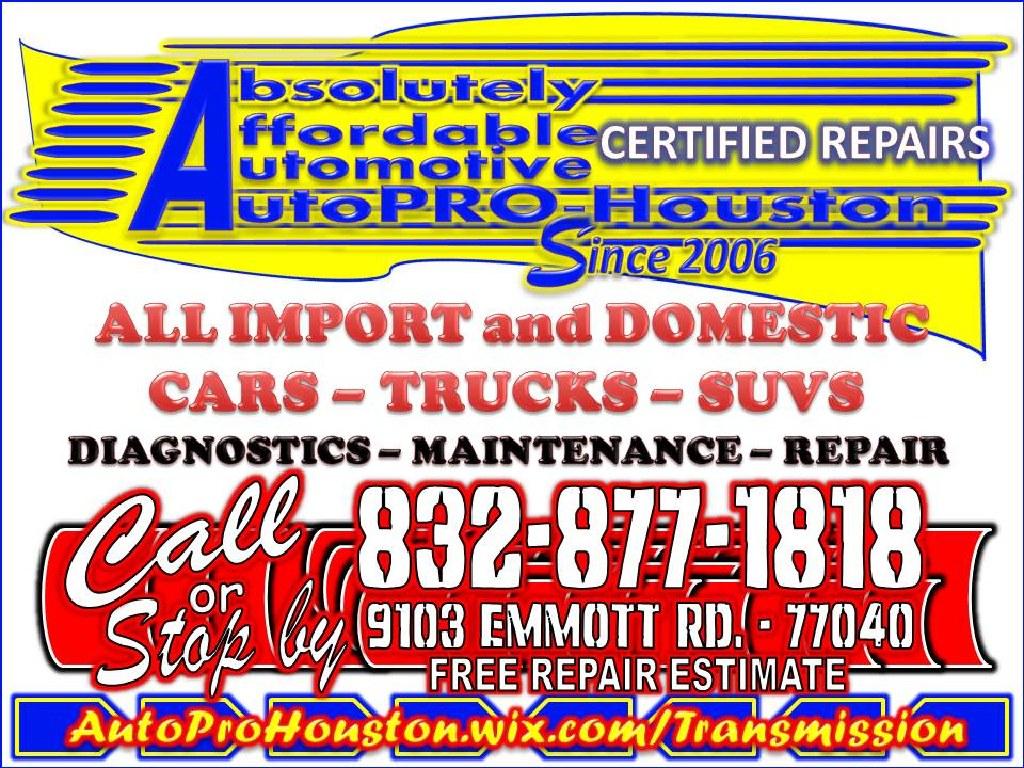 Brake Repair Shop   Houston Harris County TX   Mobile Mechanics