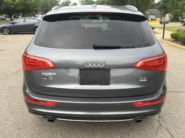 2012 Audi Q5 3.2 quattro Premium Plus AWD 4dr SUV