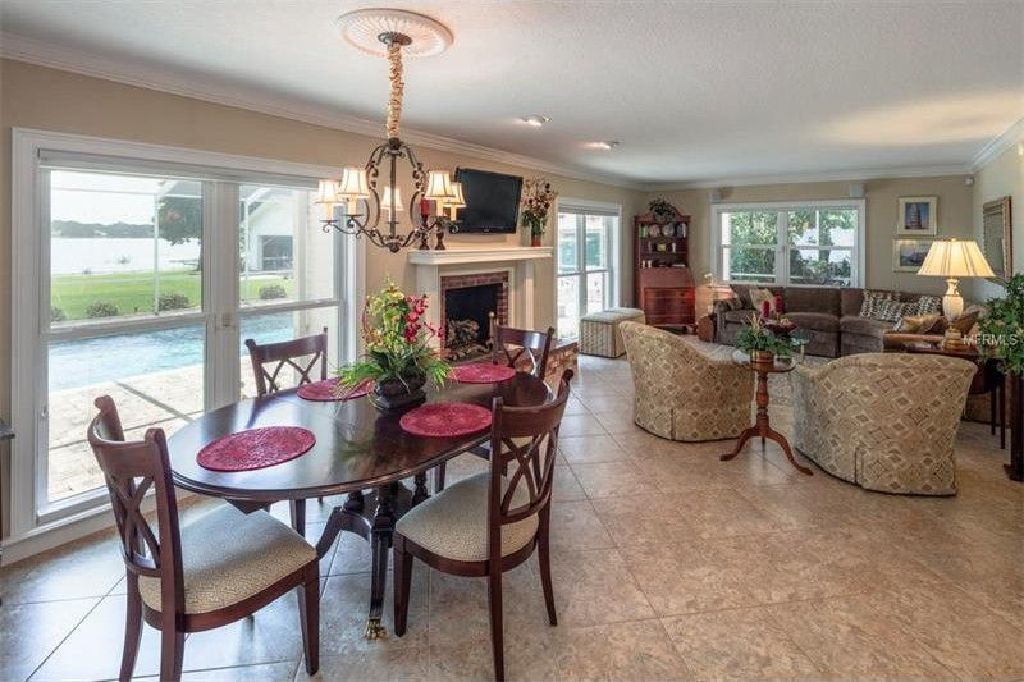 Price just reduced this true lakefront estate opportunity home