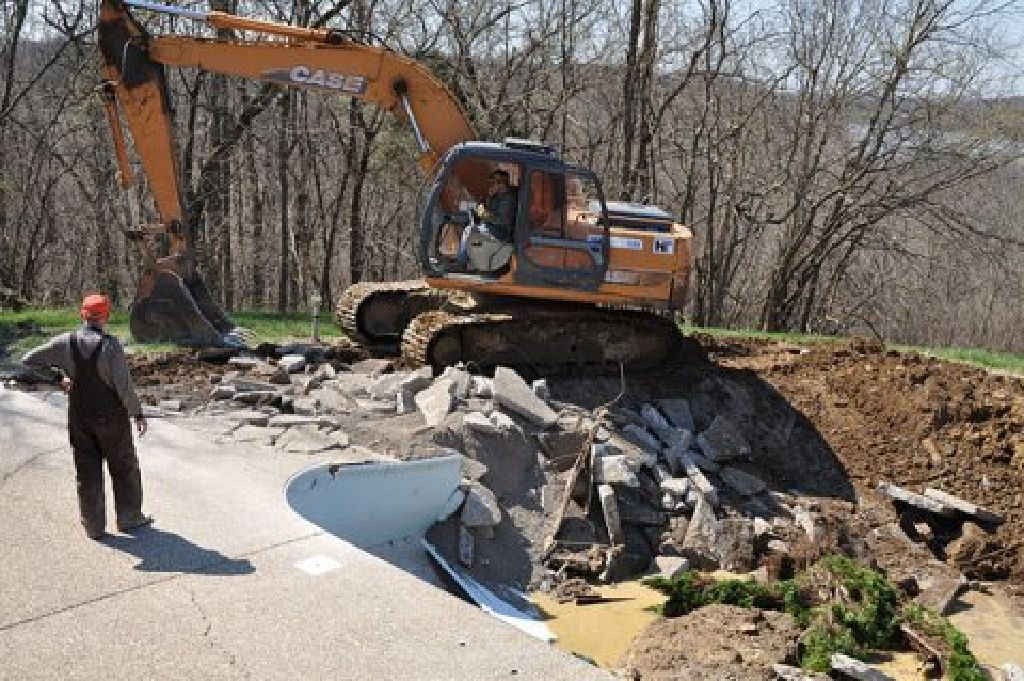 Professional Demolition - Swimming Pool Demolition / Removal - Reside