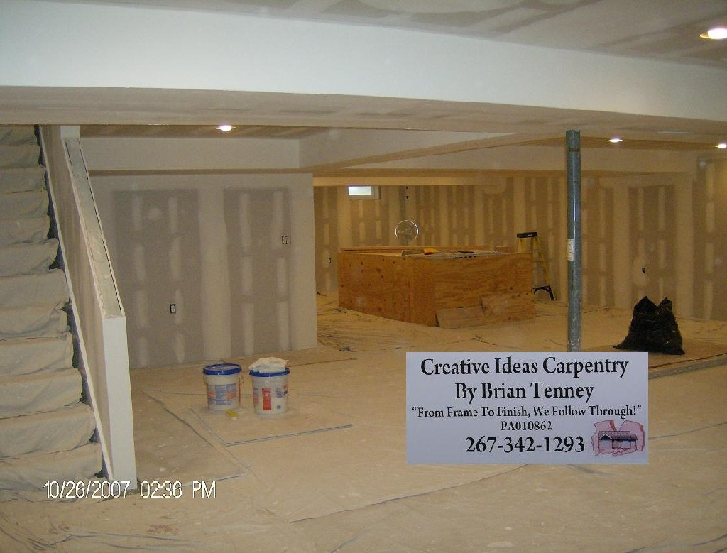 Carpentry, Drywall, Construction, Renovation, Remodeling and Repair