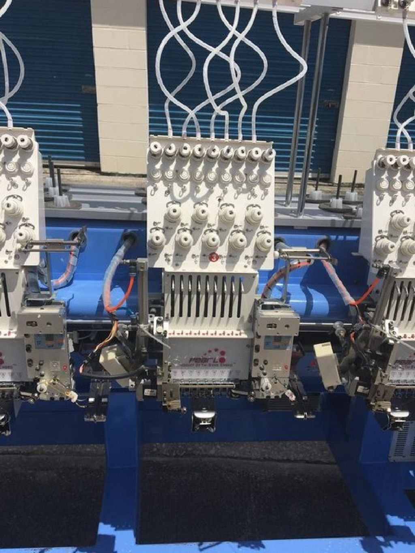 TSE Pearl 6 Head 9 Needle Embroidery Machine RTR#7083038-01