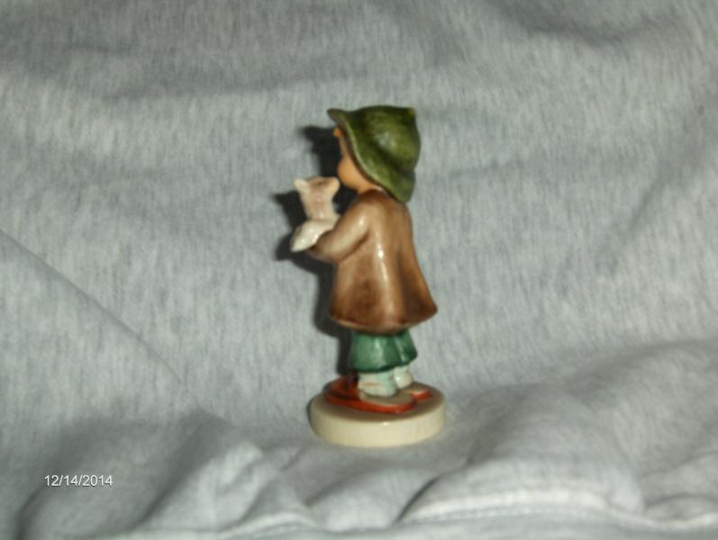 Vintage Very Rare Hummel Figurine The Lost Sheep